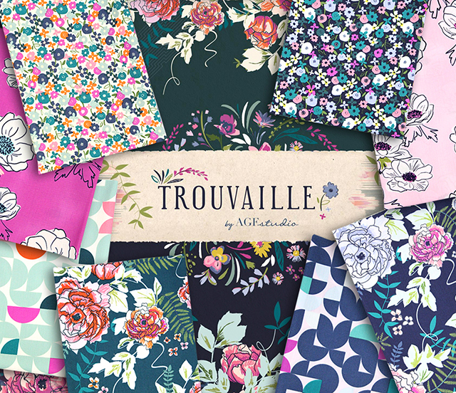 Art Gallery Fabrics Trouvaille Collection 入荷