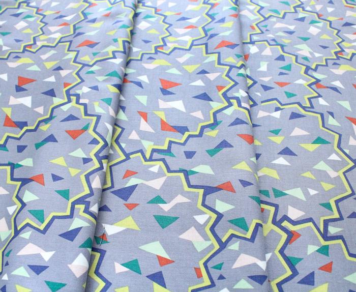 Michael Miller Fabrics Atelier DC8685-PEWT Paper Fans Pewter