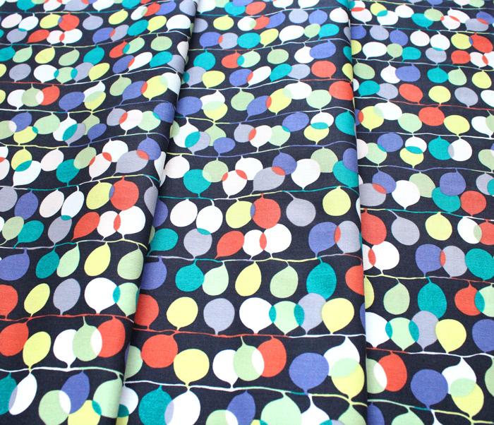 Michael Miller Fabrics Atelier DC8687-PUMP Party Lights Pumpkin