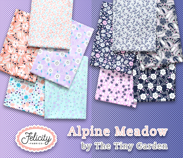 Felicity Fabrics Alpine Meadow Collection 入荷