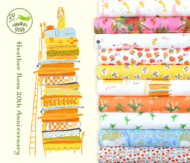 Windham Fabrics Heather Ross 20th Anniversary Collection 入荷