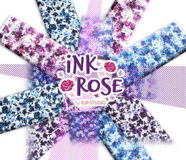 RJR Fabrics Ink Rose Collection by RJR Studio