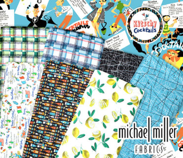 Michael Miller Fabrics Kitschy Cocktails Collection
