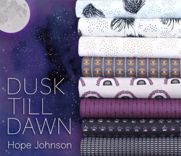 COTTON+STEEL Dusk Till Dawn Collection by Hope Johnson