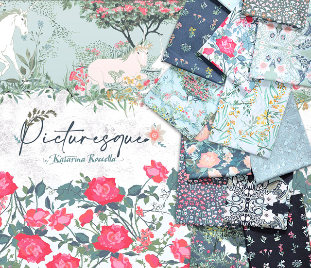 Art Gallery Fabrics Picturesque Collection 入荷