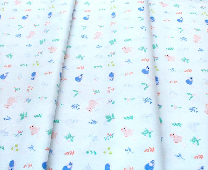 Birch Fabrics Kitty Garden JR-12 Little One