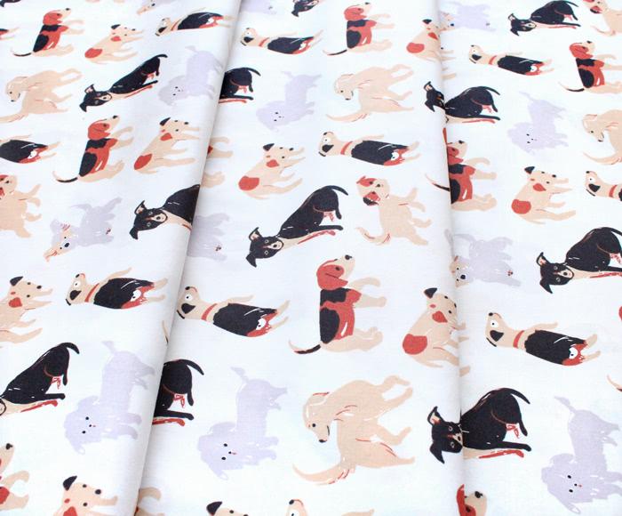 Birch Fabrics Dog Park JR-21 Take a Walk