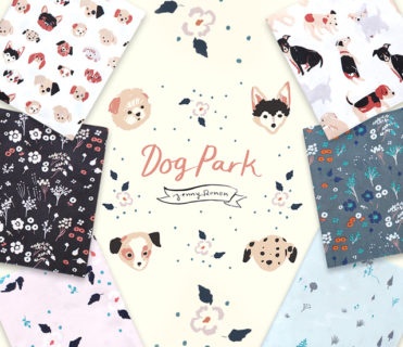 Birch Fabrics Dog Park Collection by Jenny Rone