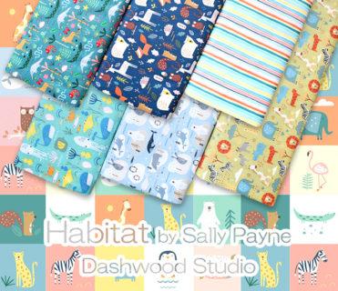 Dashwood Studio Habitat Collection by Sally Payne