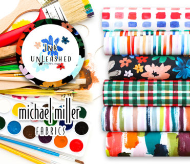 Michael Miller Fabrics Ink Unleashed Collection by The Paper Curator