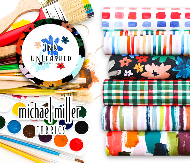 Michael Miller Fabrics Ink Unleashed Collection 入荷