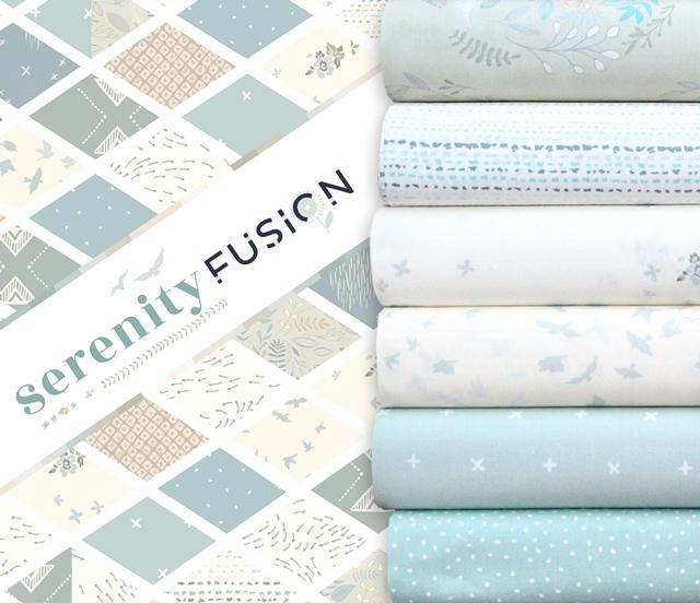 Art Gallery Fabrics Serenity Fusion Collection 入荷