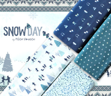 Art Gallery Fabrics Snow Day Collection by Mister Domestic