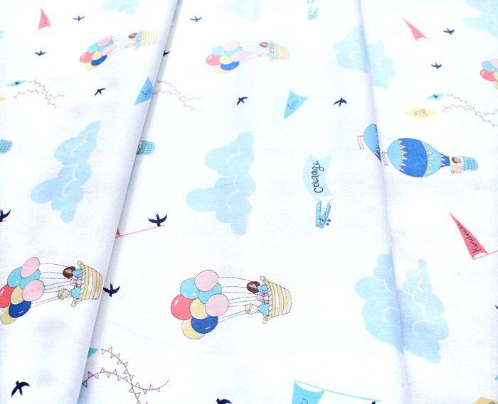 Michael Miller Fabrics Wonderful World DH9375-SWHT Courage & Kindness Soft White