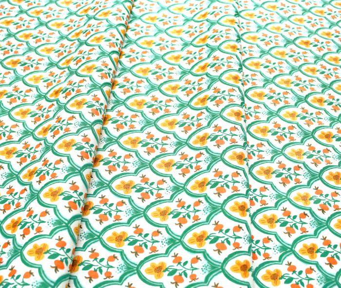 Windham Fabrics Malibu 52151-1 Wood Block Osean