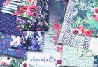 Art Gallery Fabrics Aquarelle Collection by Katarina Roccella