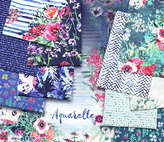 Art Gallery Fabrics Aquarelle Collection 入荷