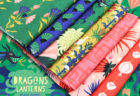 Cloud9 Fabrics Dragons & Lanterns Collection by Kate Merritt