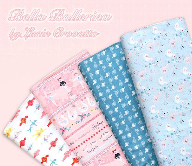"""かわいいバレリーナの生地 Studio E Fabrics """"Bella Ballerina"""""""