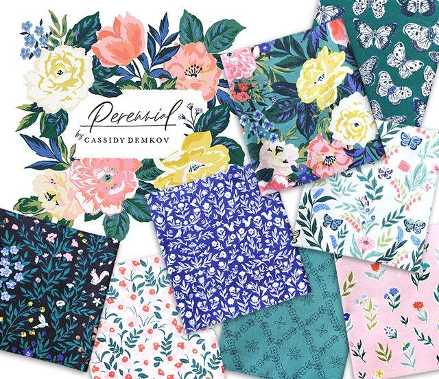 Cloud9 Fabrics Perennial Collection 入荷