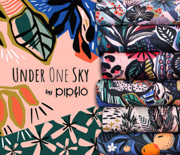 Cloud9 Fabrics Under One Sky Collection by Pip & Lo