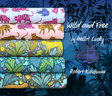 Robert Kaufman Wild and Free Collection by Hello! Lucky