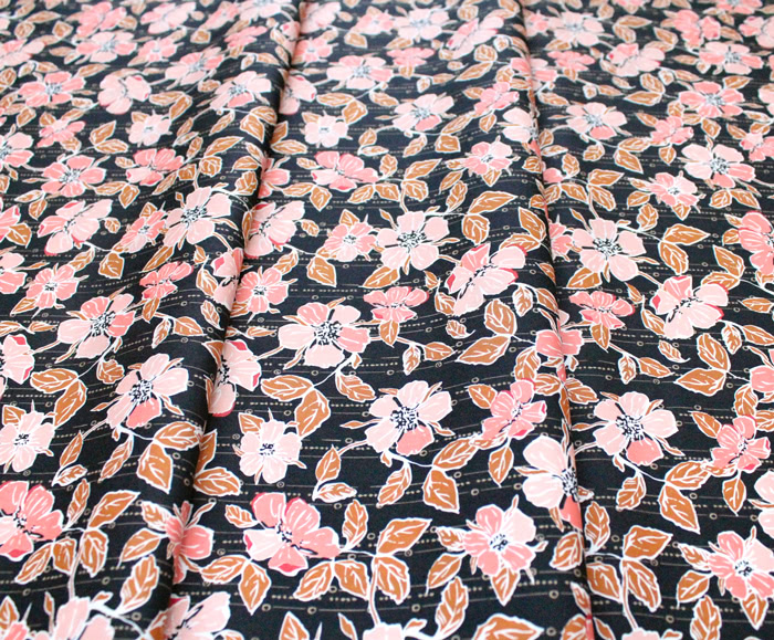Art Gallery Fabrics Homebody Crafted Blooms Cacao