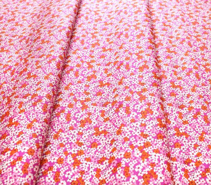 Art Gallery Fabrics The Flower Society Retro Prairie Blush