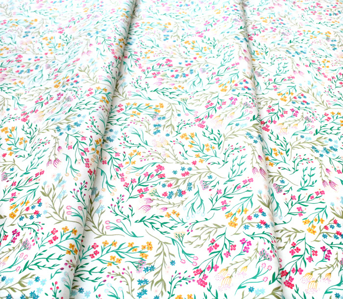 Art Gallery Fabrics The Flower Society Windswept Illuminated