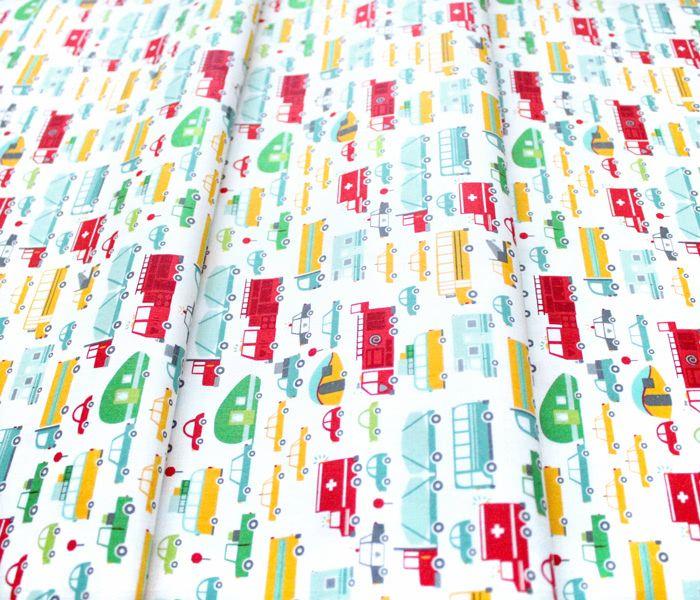 Moda Fabrics On The Go 20721-11 Beep Beep Cloud