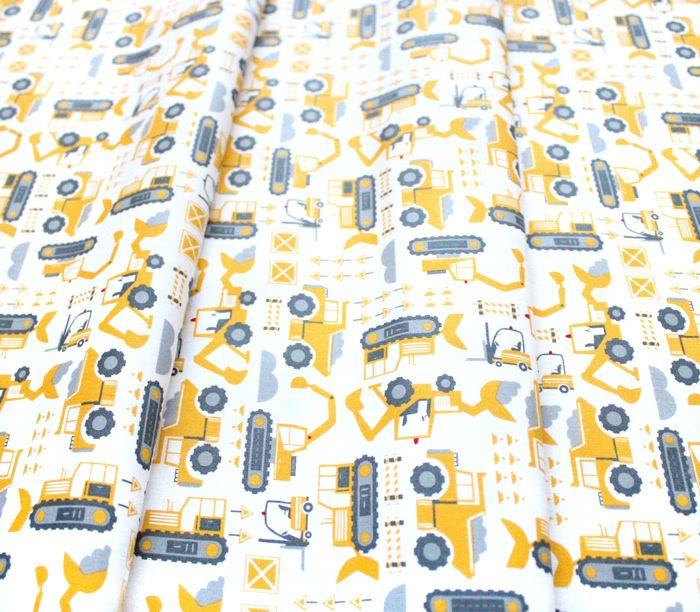 Moda Fabrics On The Go 20724-11 Let's Build Cloud