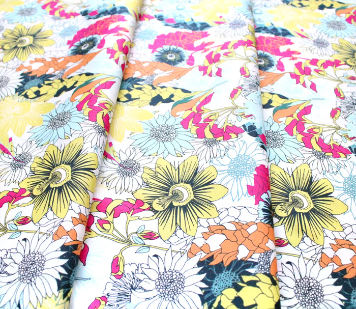 Art Gallery Fabrics Pollinate Abundant Meadow