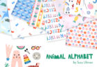 Paintbrush Studio Fabrics Animal Alphabet Collection by Suzy Ultman