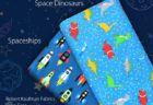 Robert Kaufman Fabrics Dino-Soar by Andie Hanna