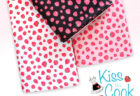 Michael Miller Fabrics Kiss The Cook Strawberry Jam