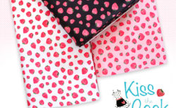 Michael Miller Fabrics Kiss The Cook Strawberry Jam