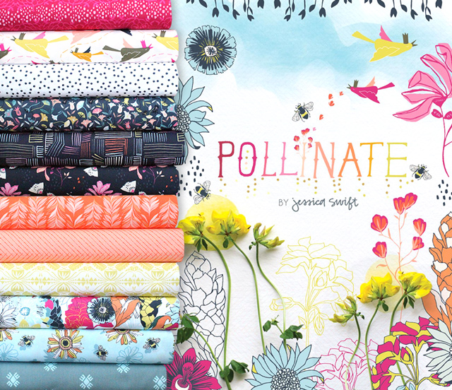 Art Gallery Fabrics Pollinate Collection 入荷
