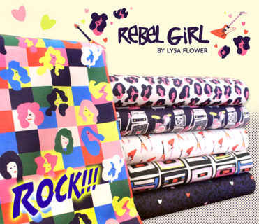 Paintbrush Studio Fabrics Rebel Girl Collection by Lysa Flower
