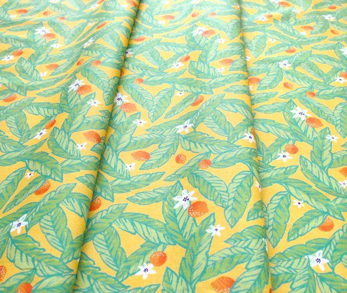 Paintbrush Studio Fabrics Citrus House 120-21877 Palm Grove