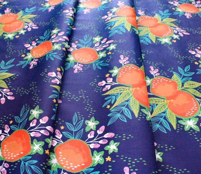 Paintbrush Studio Fabrics Citrus House 120-21873 Grove Bouquet