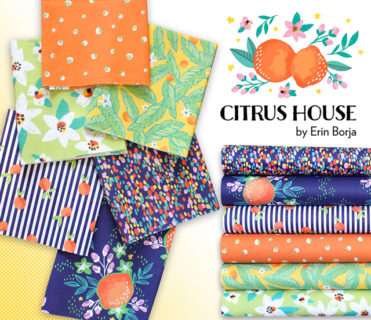 Paintbrush Studio Fabrics Citrus House Collection by Erin Borja