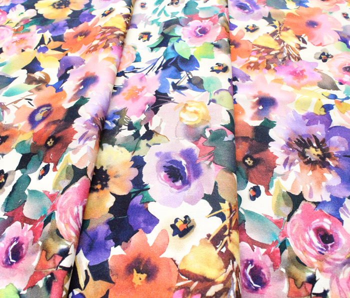 Michael Miller Fabrics Floral Fancy DCX9692-MULT Beauty in Nature