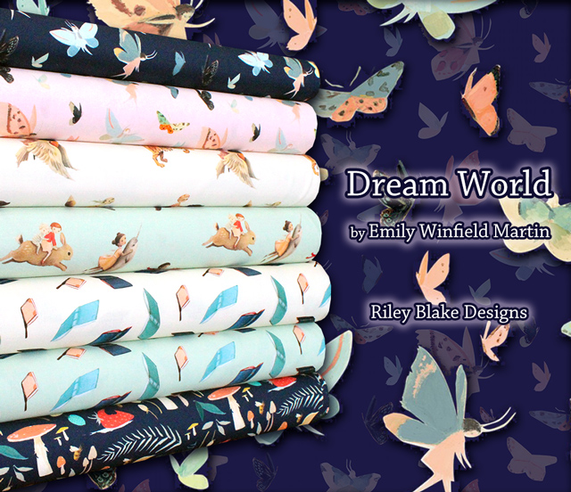 Riley Blake Designs Dream World Collection 入荷