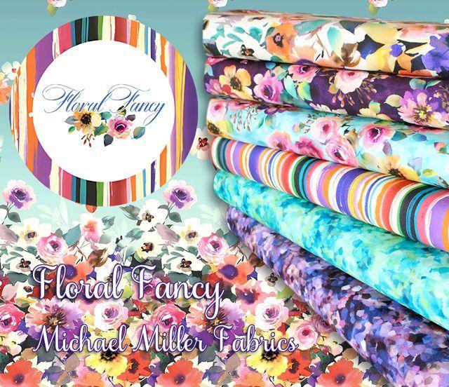 Michael Miller Fabrics Floral Fancy Collection 入荷