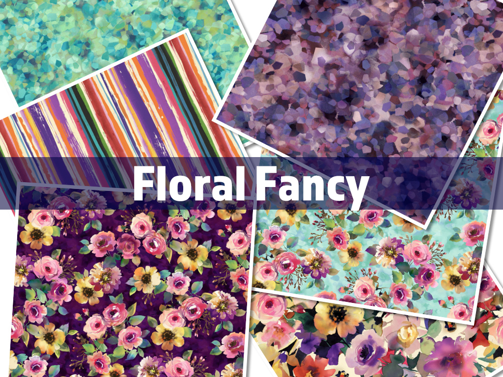 Michael Miller Fabrics Floral Fancy Collection by Michael Miller Fabrics