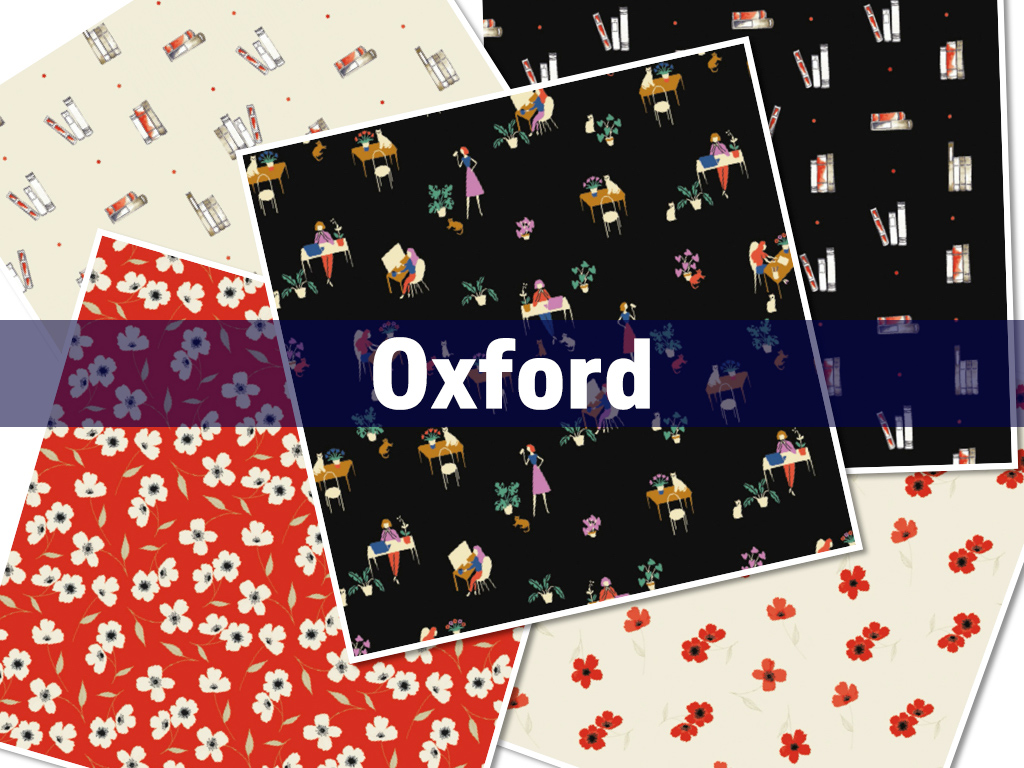 Camelot Fabrics Oxford Collection by Laura Ashley