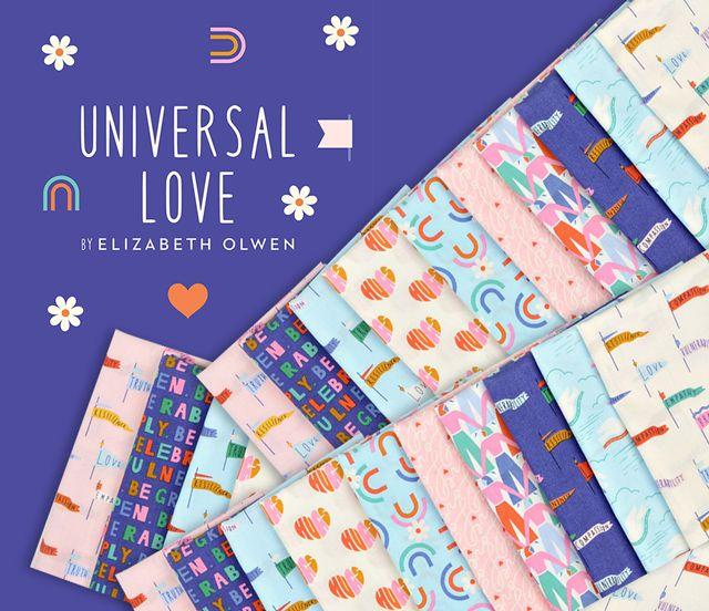 Cloud9 Fabrics Universal Love Collection 入荷