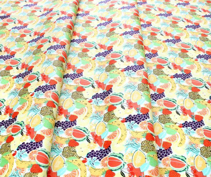 Camelot Fabrics Feelin' Fruity 30200201-1 Fruit Salad Multi