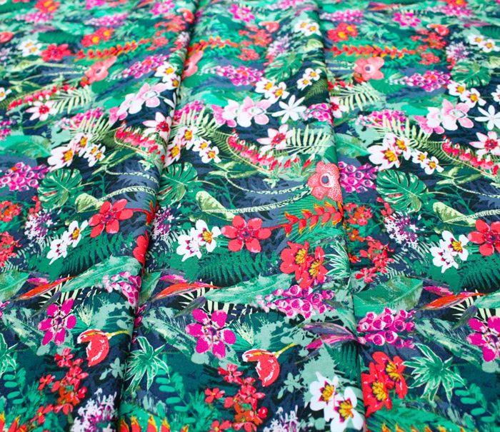 Art Gallery Fabrics Boscage Lush Rainforest