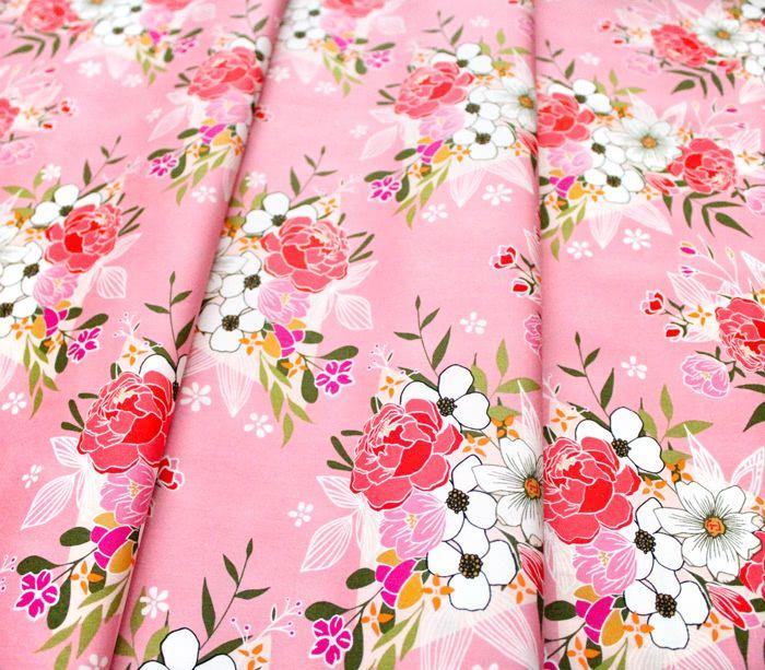 Art Gallery Fabrics Open Heart Flowering Love